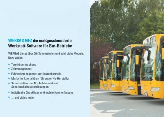 Mobile workshop management for bus operators
